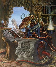 Ancient Dragon Scholar by Ed Beard, Jr.