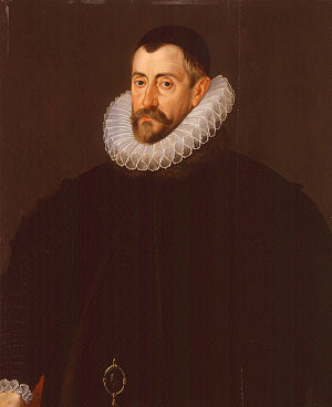 Sir Francis Walsingham, by John De Critz the E...