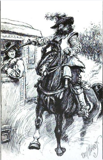 Captain Dudley on Hounslow Heath Paul Hardy in CG Harper 1895 Alternate History Part 2: Of Highwaymen, Ghosts, and Rural Surrey