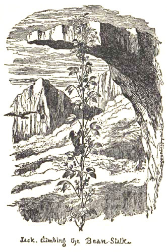 Jack and the Beanstalk Cruikshank 1854 Fairy Tales, Symbols, and Readers Expectations