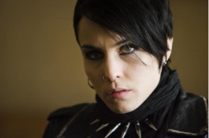 Rapace as Lisbeth Salander