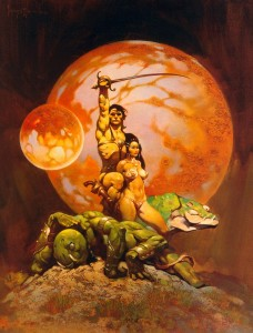 John Carter Deja Thoris by Frank Frazetta1 228x300 John Carter: Not the Burroughs Hero After All?