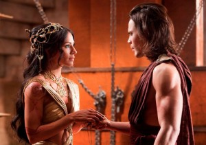 John Carter2 Deja Thoris 300x211 John Carter: Not the Burroughs Hero After All?