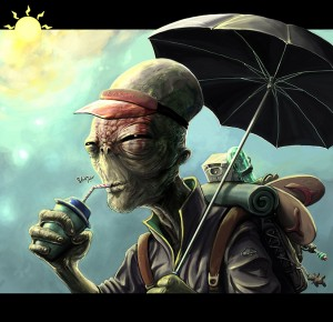 Alien Tourist by madart84 large 300x2901 Alien Tourist (Podcast)