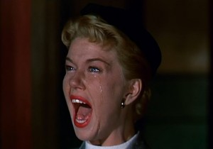 Jo screams a warning3 300x210 The Darker Side of Doris Day