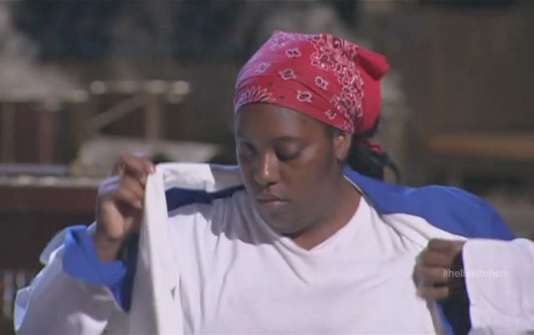 Nedra dons blue team jacket hells kitchen e11s13