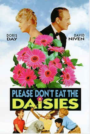 Please Dont Eat the Daisies 1960 movie poster The Darker Side of Doris Day