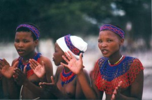 Women of the San People (Bushmen)