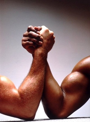 arm wrestling