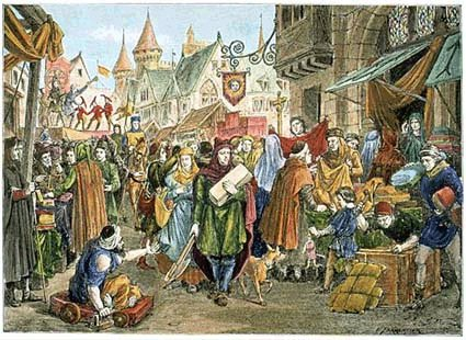 medieval fair Lodgings in Fantasy Settings: Where Do Adventurers Spend the Night?